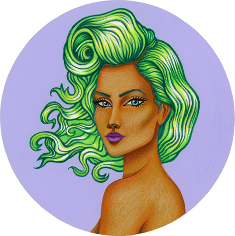 2014-Jeaneen Carlino-Circle Muses-Painting-Wadjet-small.jpg