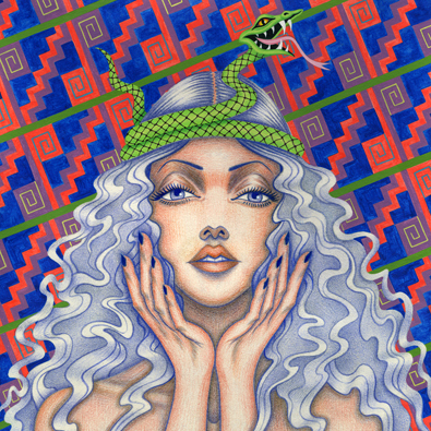 2014-Jeaneen Carlino-Modern Divinities-Painting-Drawing-JupiterHollow-SQ.jpg