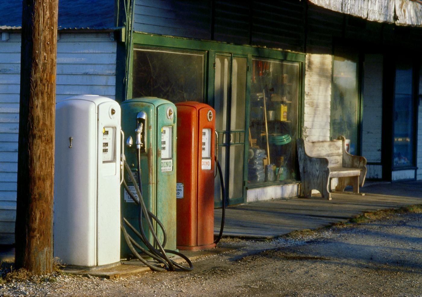 Vintage Gas Pumps