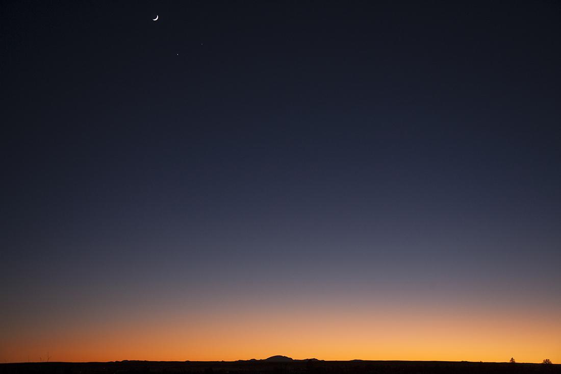 Half Moon Sunset