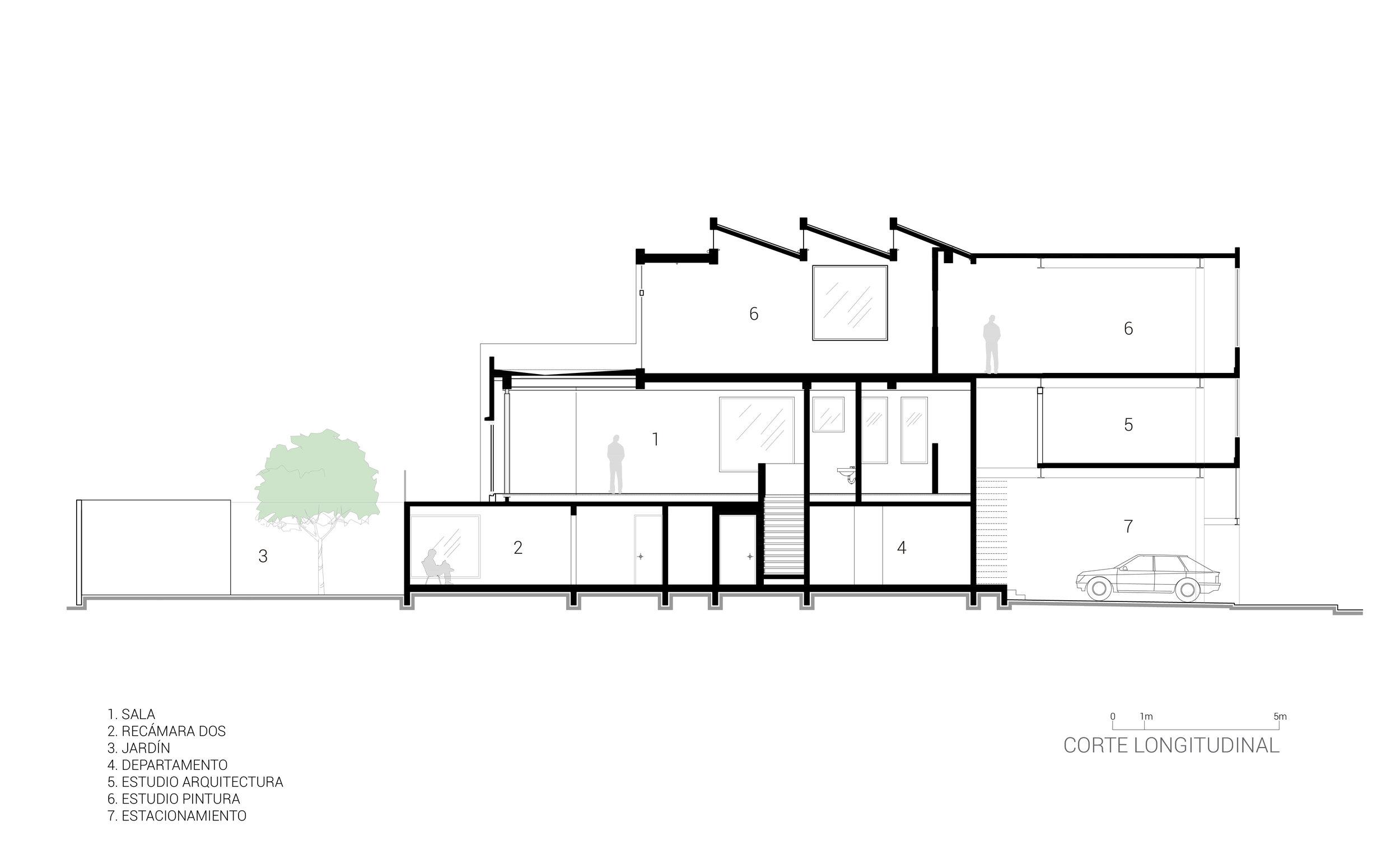 5. Corte Longitudinal estudios_Casa Estudio-Invernadero_BBL-ARQUITECTOS.jpg