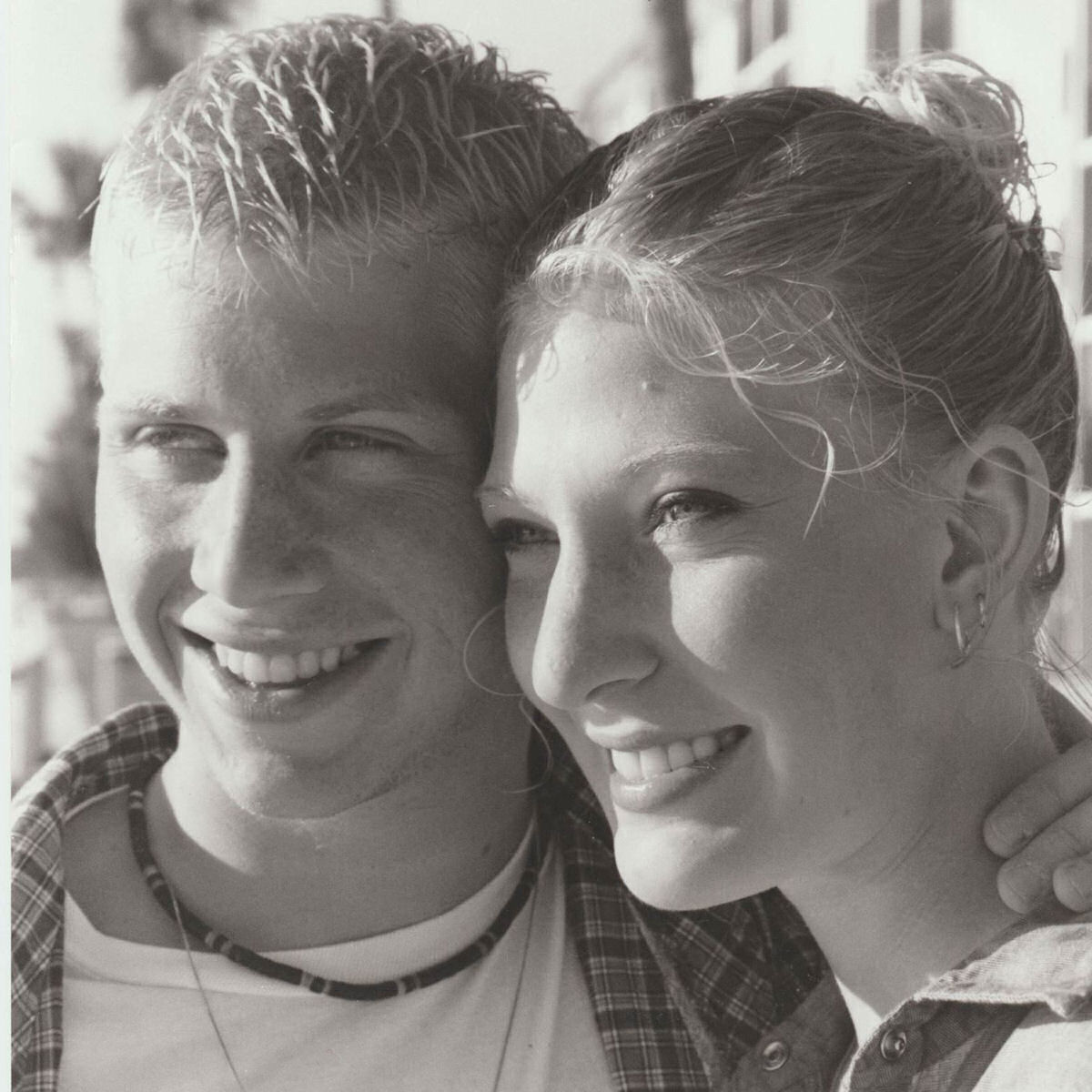 Our engagement photo (January 15,2000)