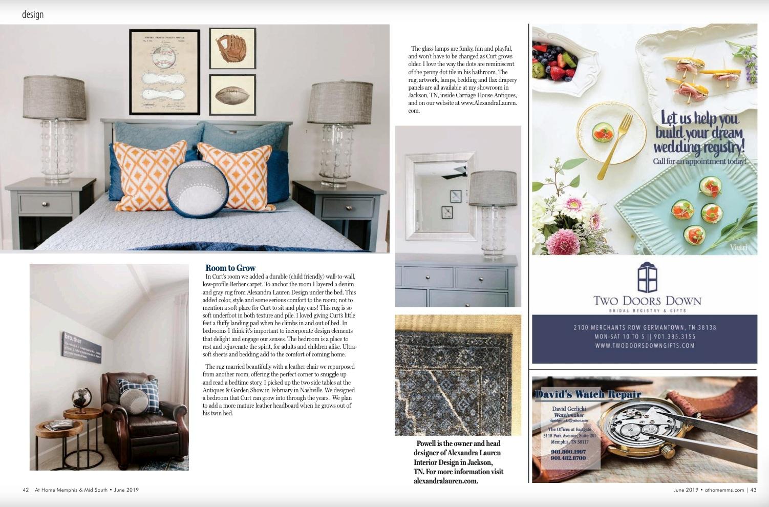 Alexandra Lauren Interior Design, Jackson TN, Playroom.jpg