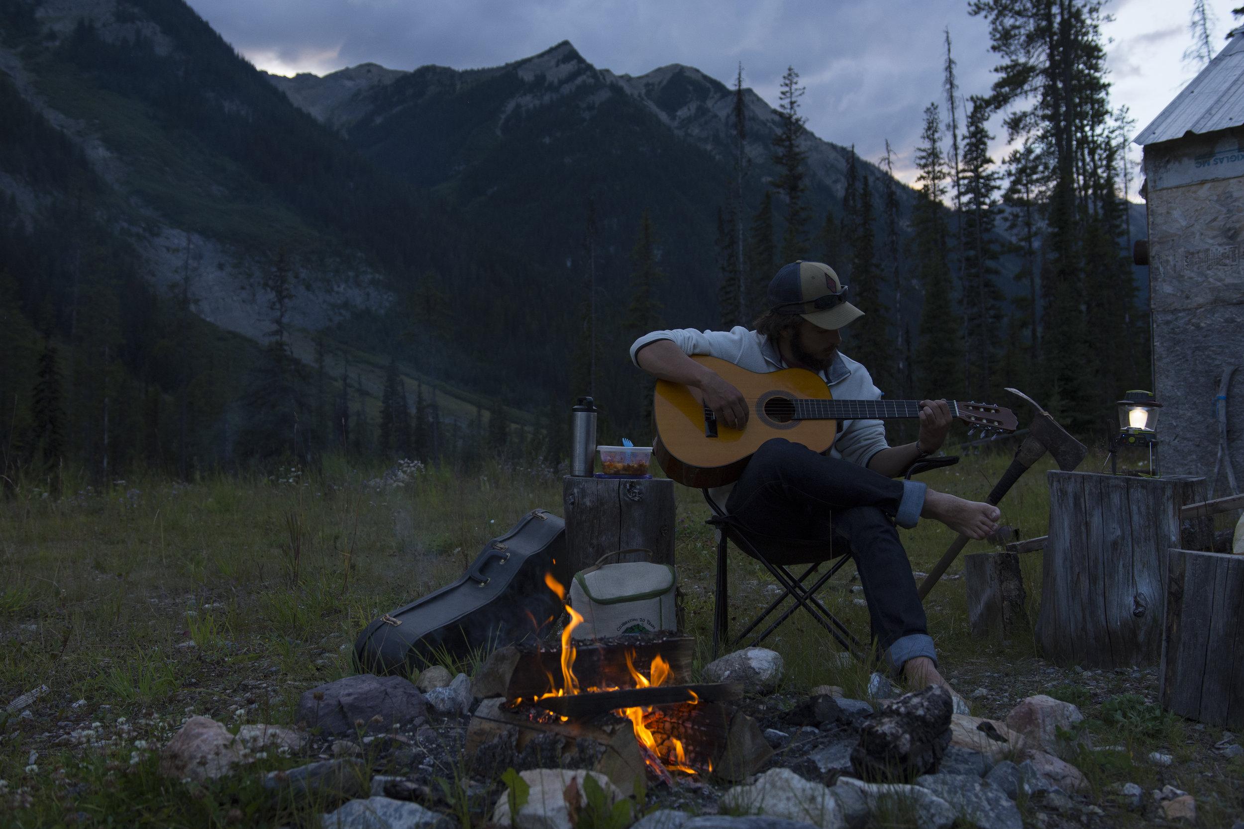 I've always responded very emotionally to music—sometimes it heals, sometimes it hurts. ( Kananaskis Country, Alberta )