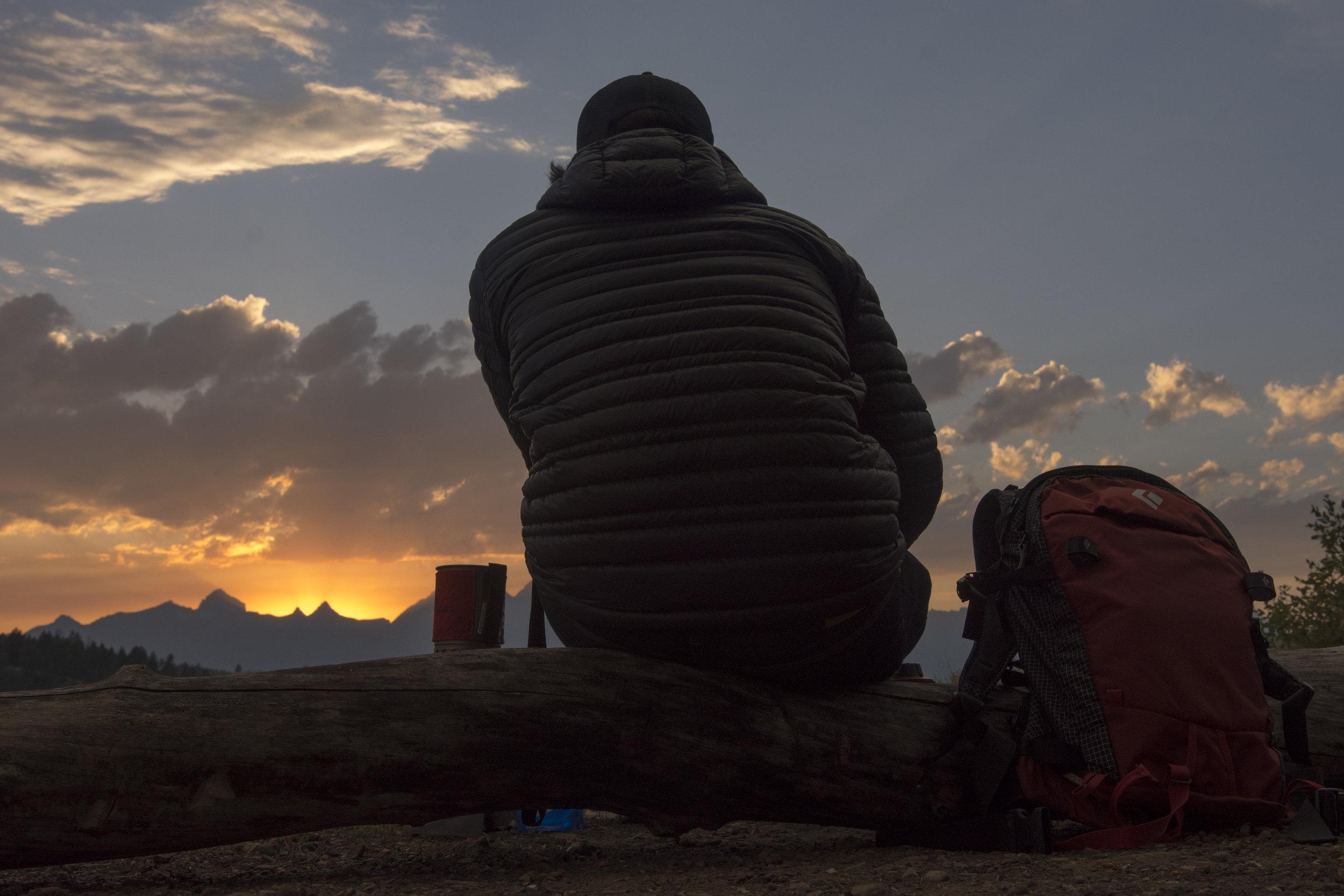 Plotting tomorrow while trying to savor today. ( Grand Teton National Park, Wyoming )