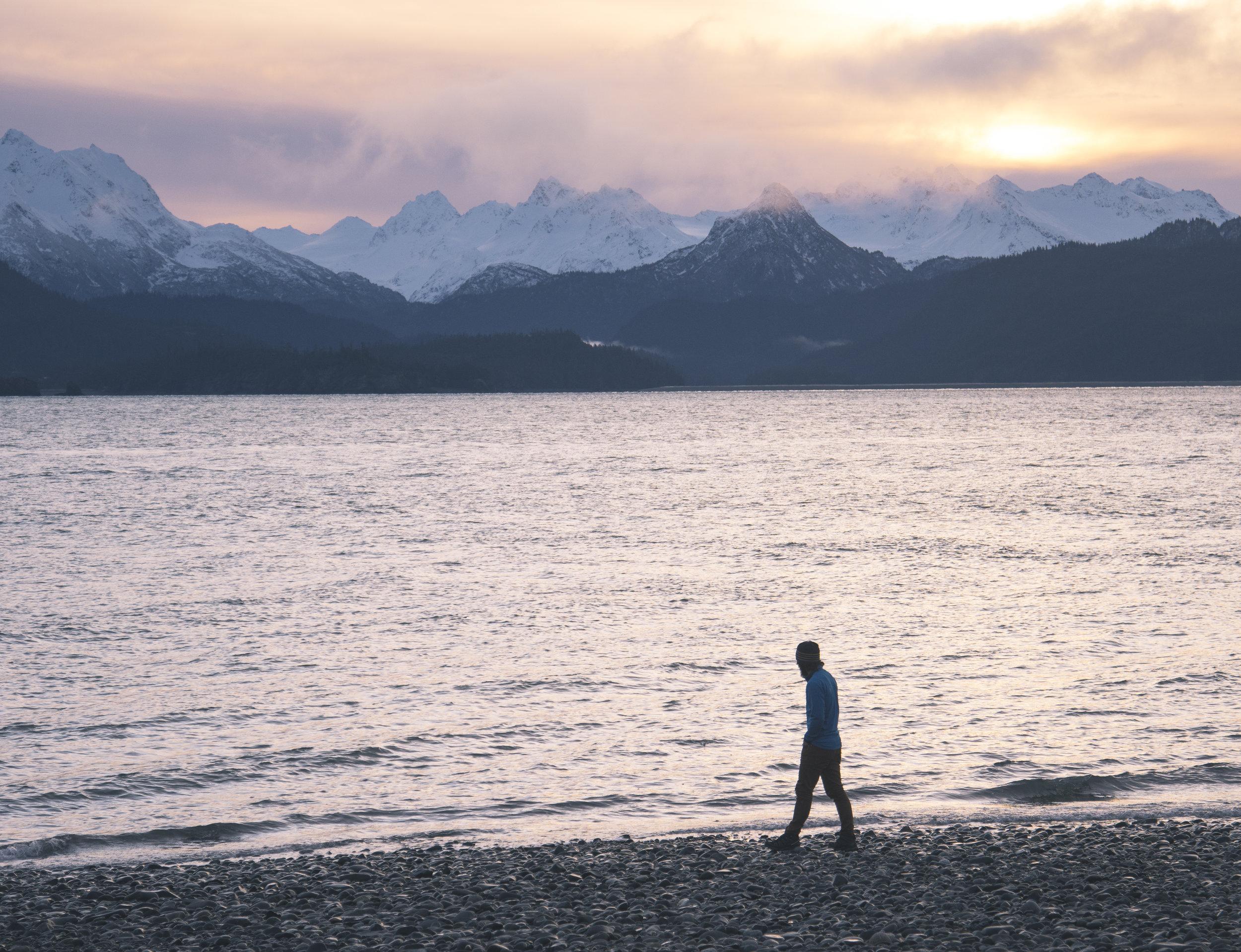 Wandering. Searching. Exploring. Thinking. (Homer, Alaska)