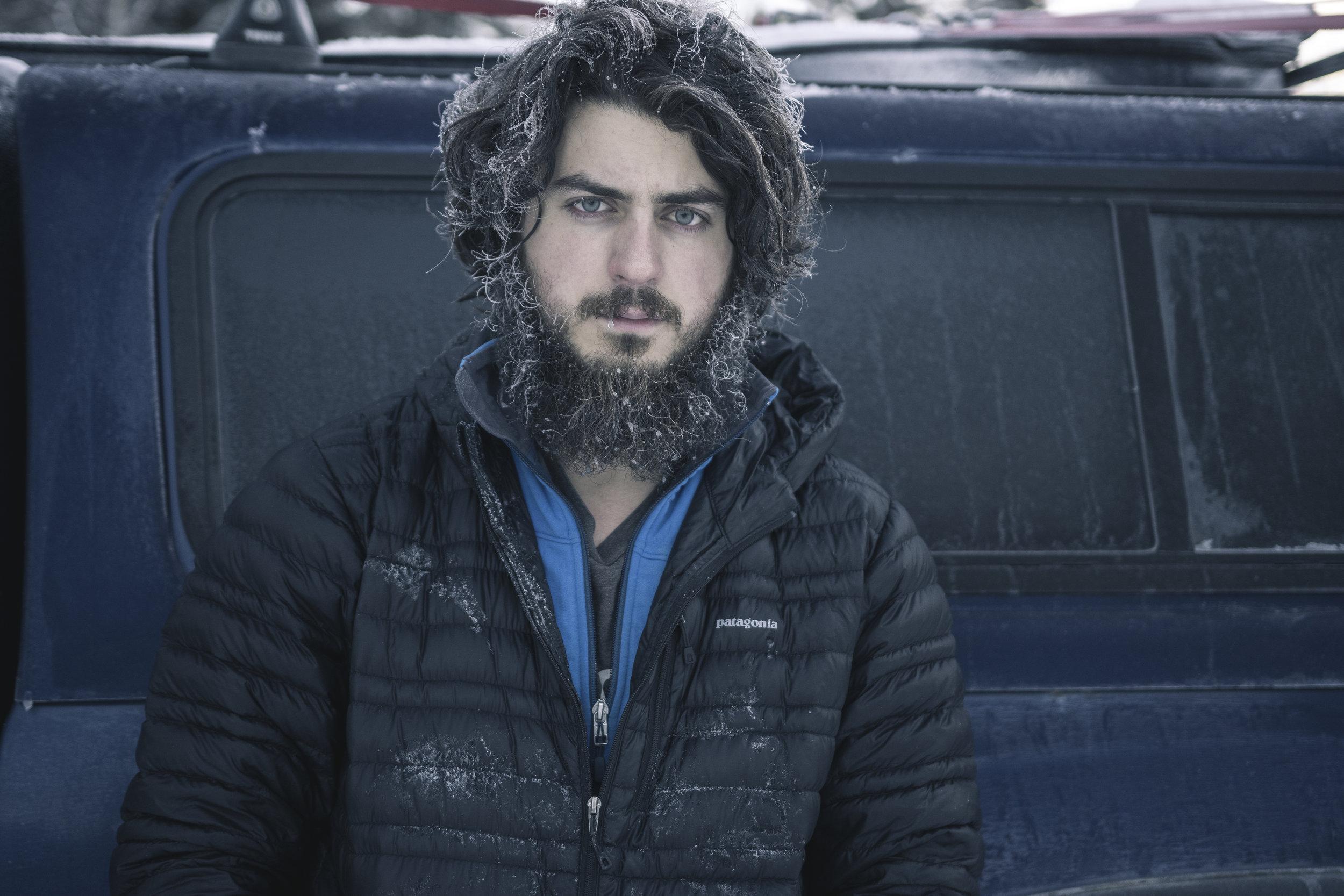 I've been warmer. (Alaska Highway, BC)