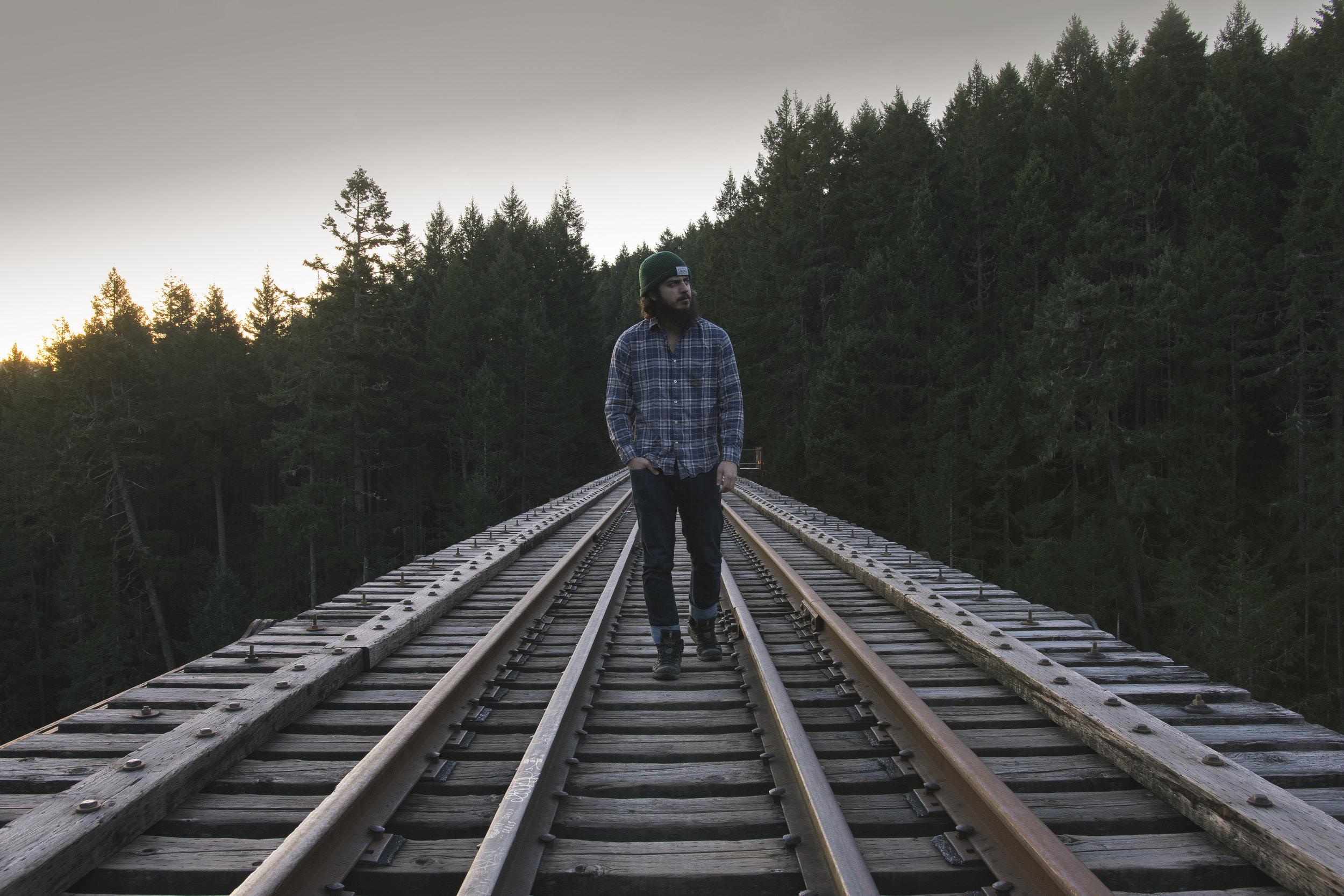 Still bearded, still moving, still never ironing a shirt. ( Vancouver Island, BC )