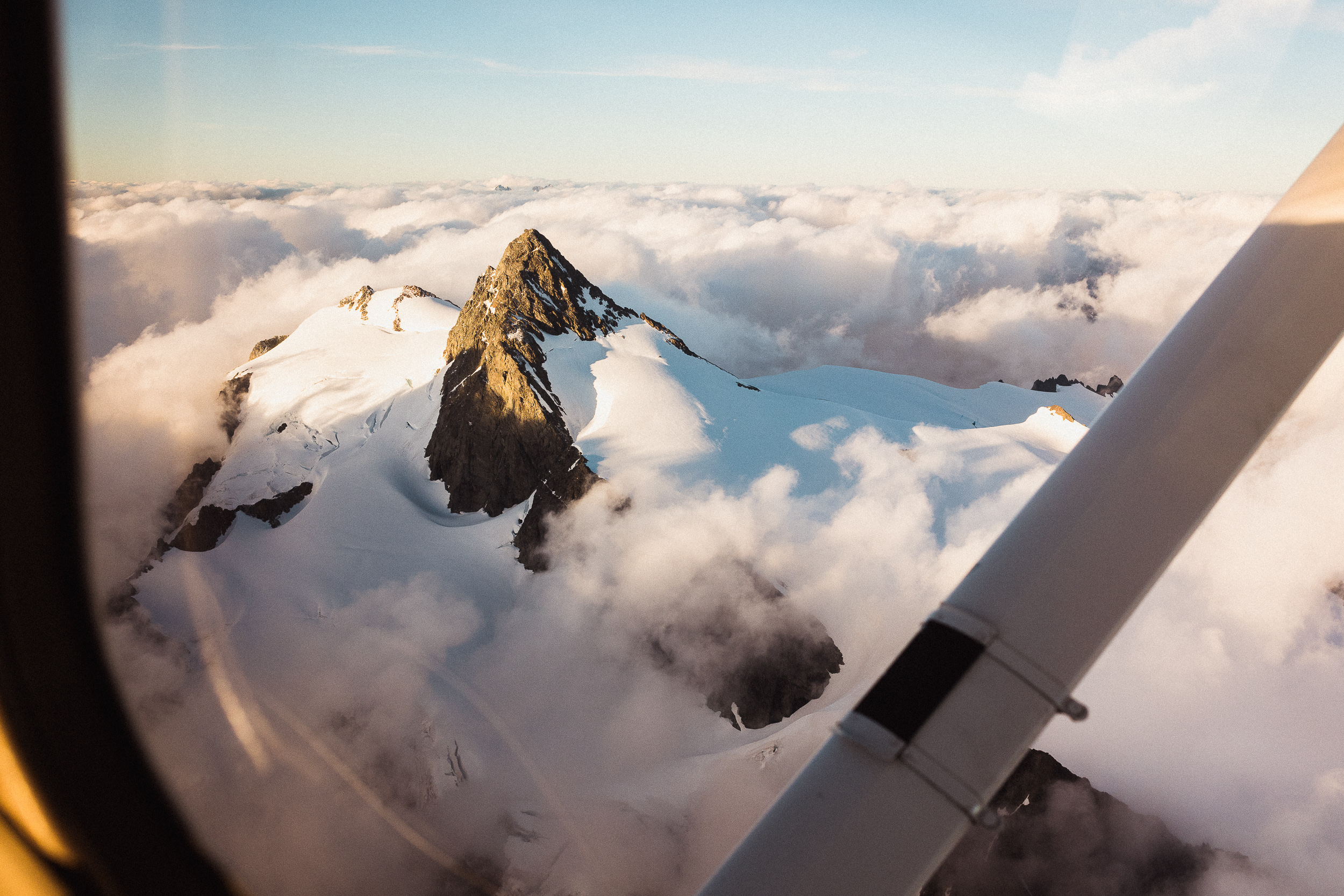 In Pursuit of Perspective - Climbing mountains involves you in a micro aspect; flying over them unlocks the macro perspective.