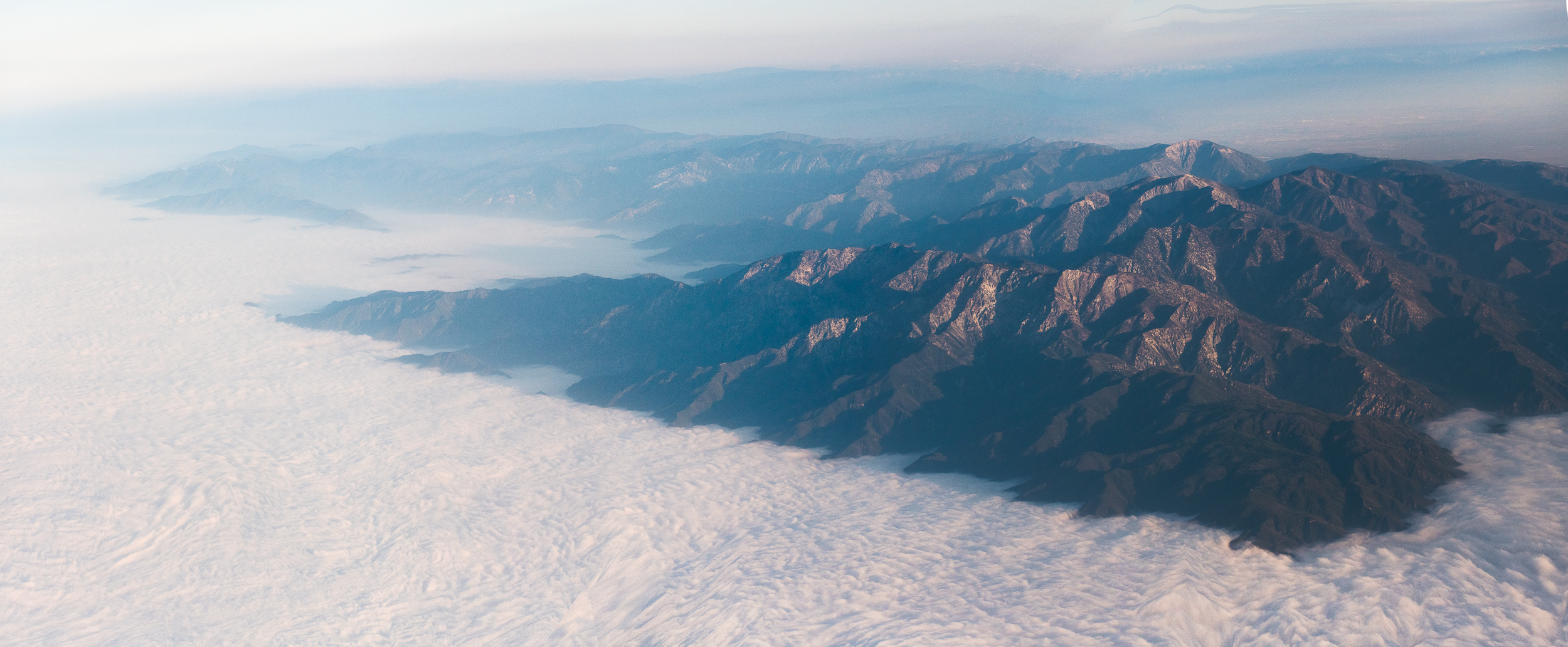 - above the clouds
