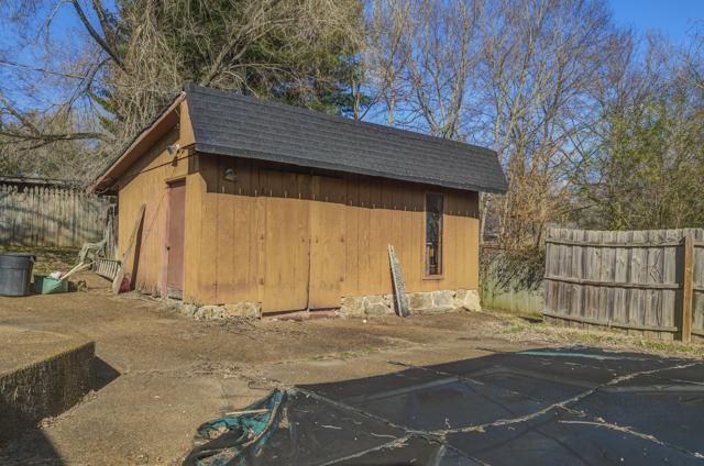ourtnlife renovation pool shack