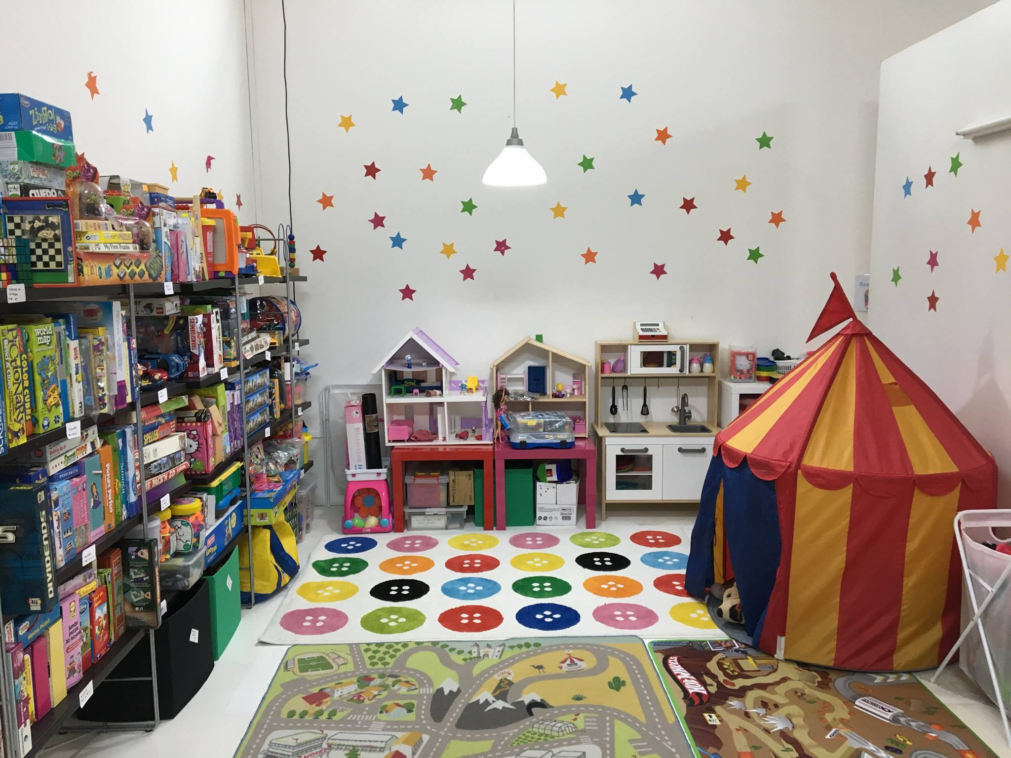 One of our spaces that the kids love to explore!