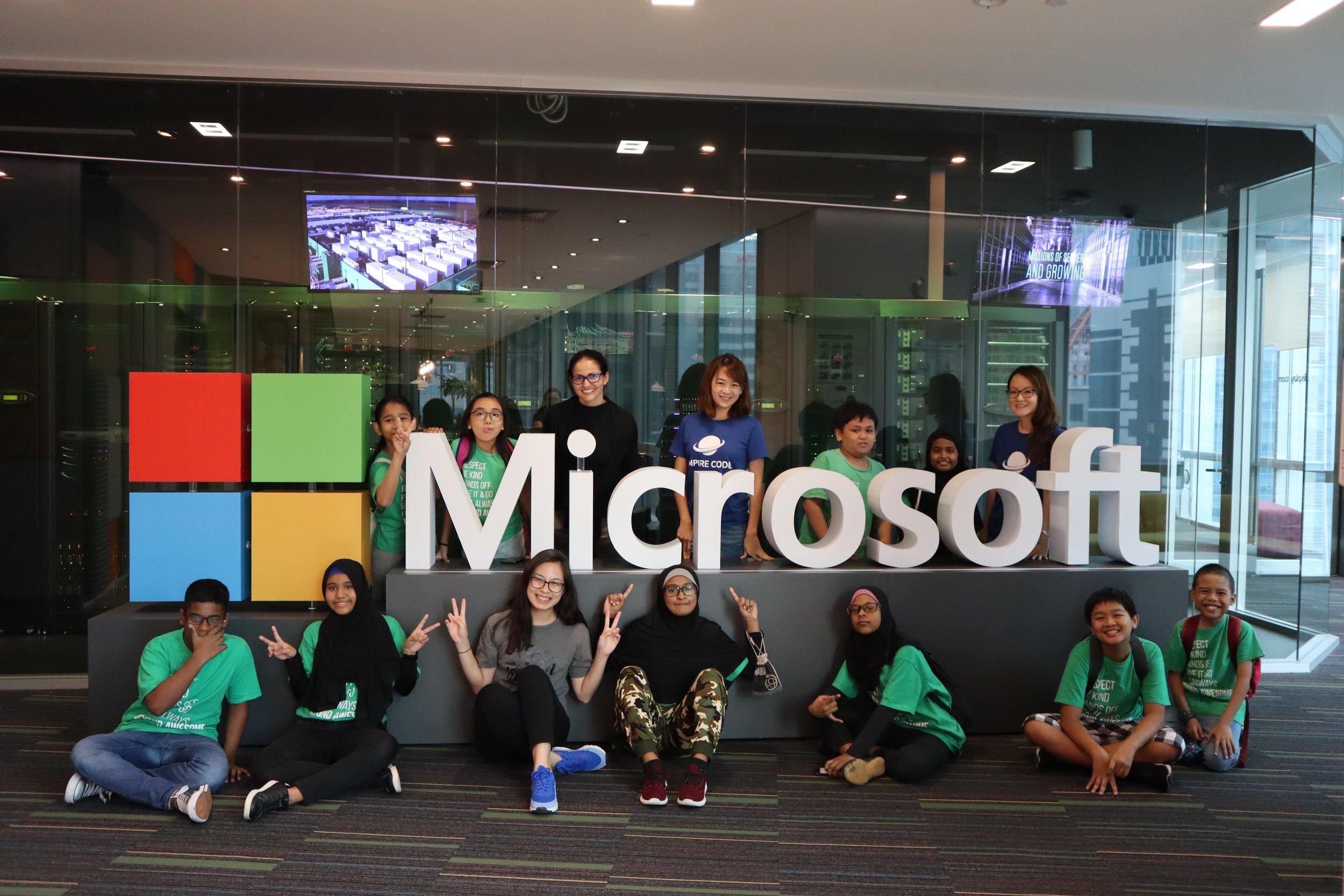 A trip to Microsoft Singapore!