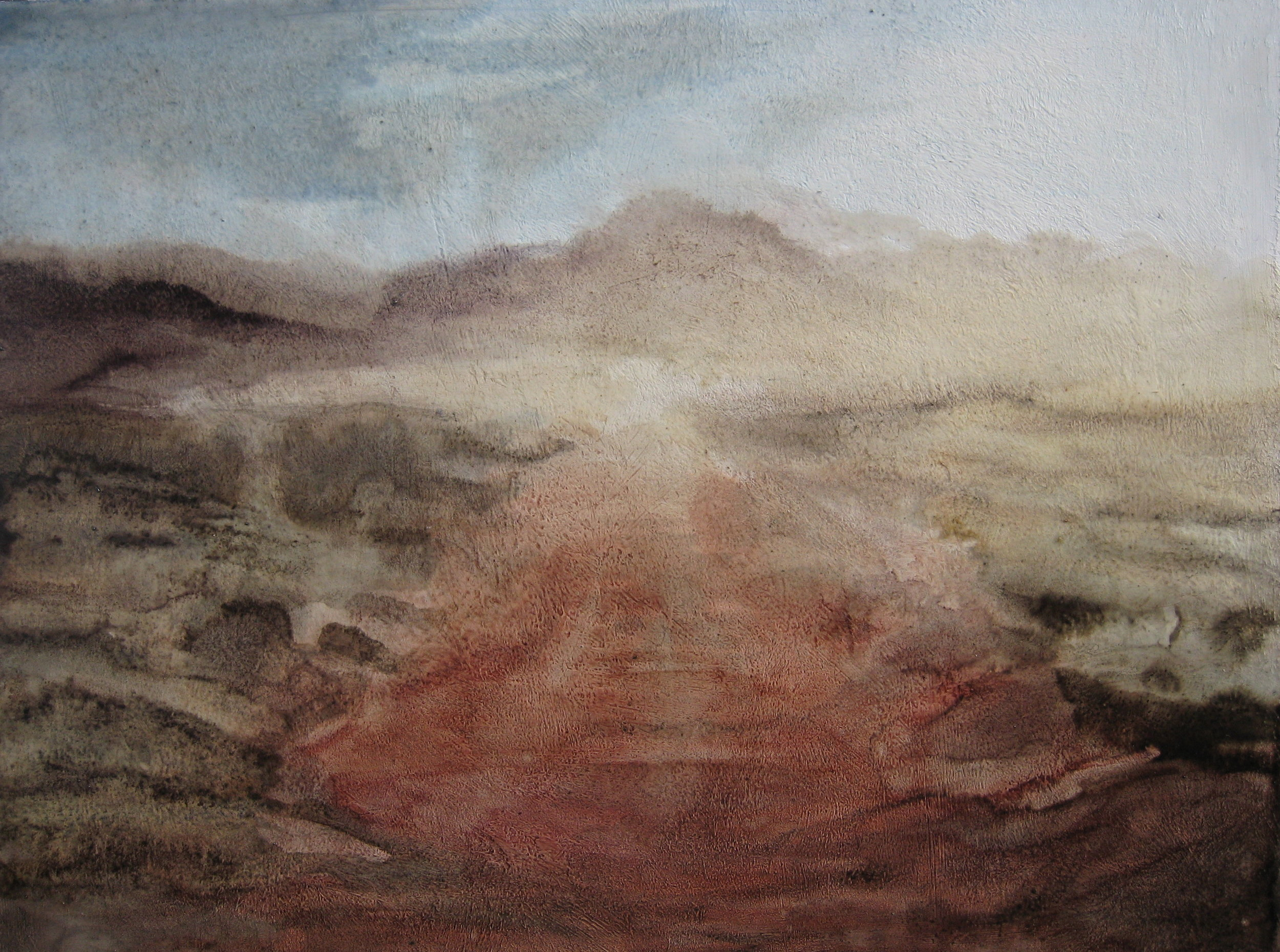 """Dust Embodies Light, Oil - 2014 - 12x16"""" - $250"""