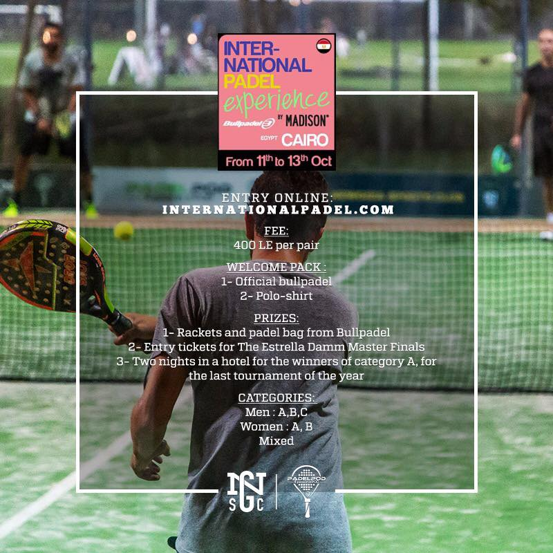 Inter-national PADEL - NGSC 11-13 Oct