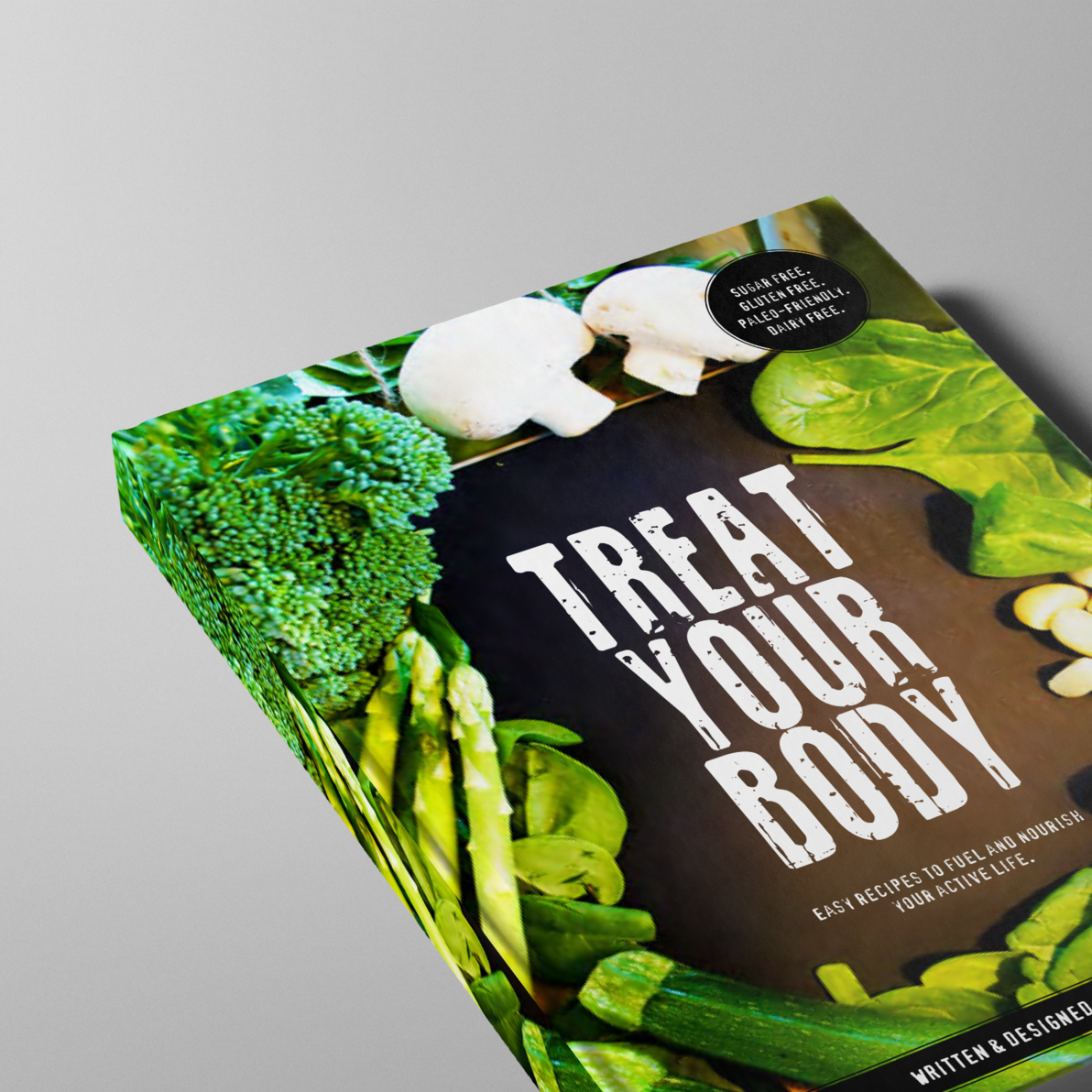 TREAT YOUR BODY  [BOOK DESIGN]