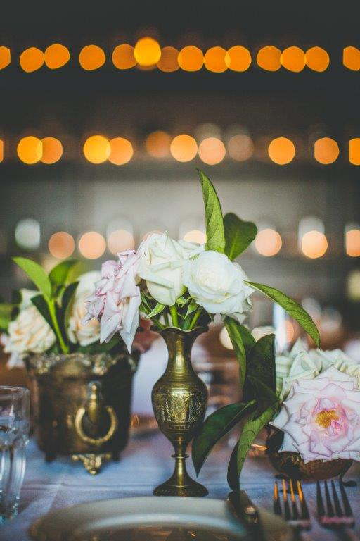 Flowers and wall of Candle light1.JPG