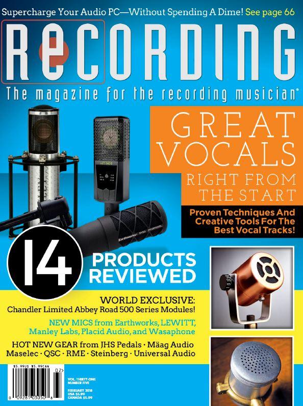 Recording Mag Jan 18 FRONT.JPG