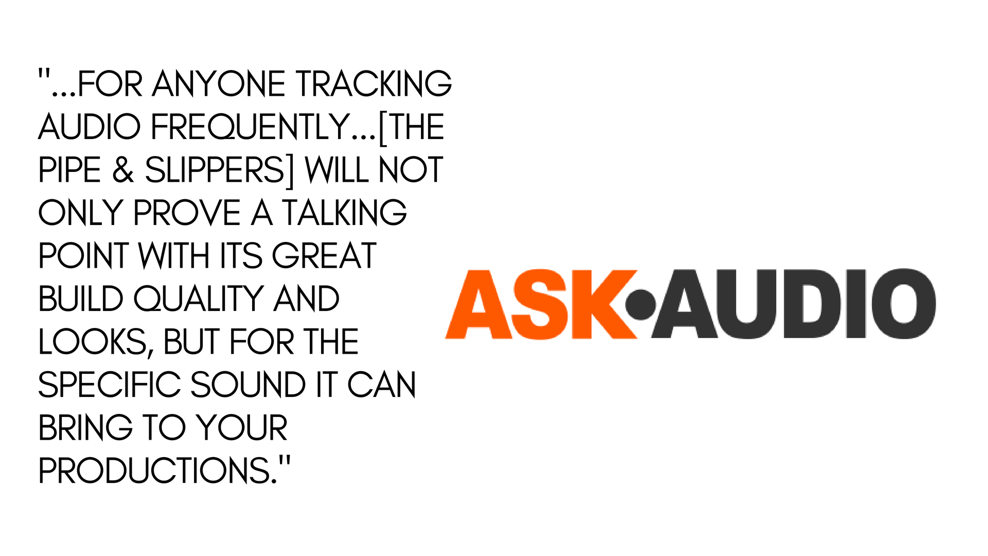 Ask Audio review, June 2018. Click image to read full article.