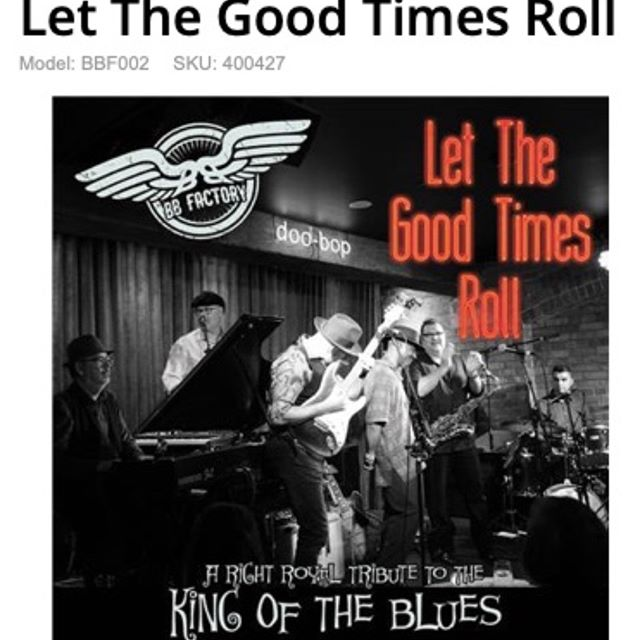 """""""Let The Good Times Roll (A Right Royal Tribute To The King Of The Blues)"""" Recorded live at #doobopjazzbar Pre-order now available at #jbhifi Out on Oct 11th. https://www.jbhifi.com.au/music/browse/blues/let-the-good-times-roll/400427/"""