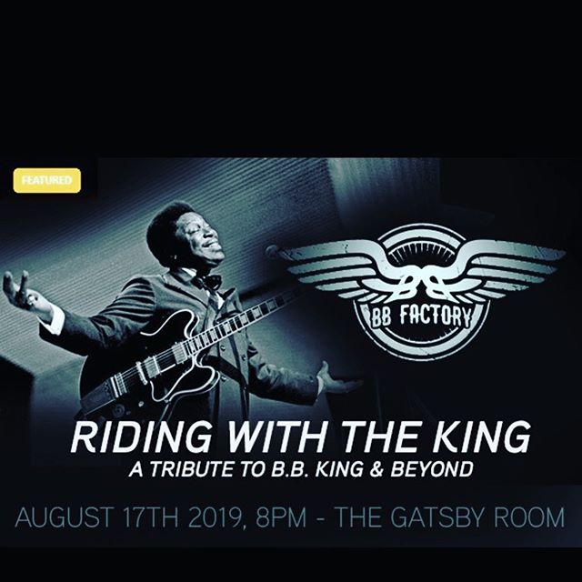 Tonight at @doobopjazzbar Tickets at the door $20. Show starts 8pm #ridingwiththeking #blues