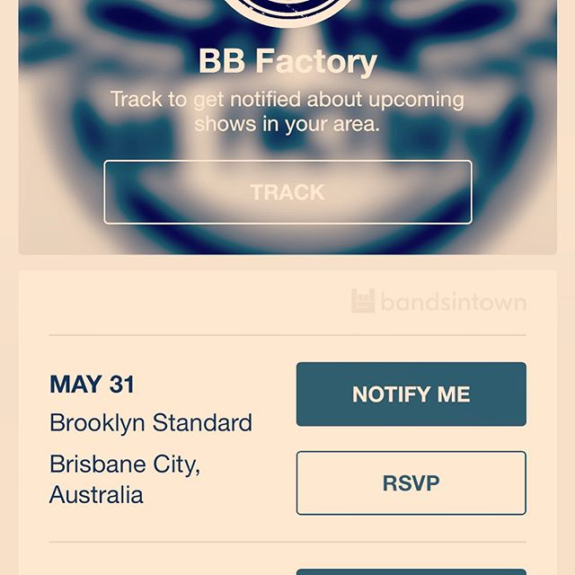 Track us to get notified about upcoming shows in your area! https://bnds.us/75xsnu