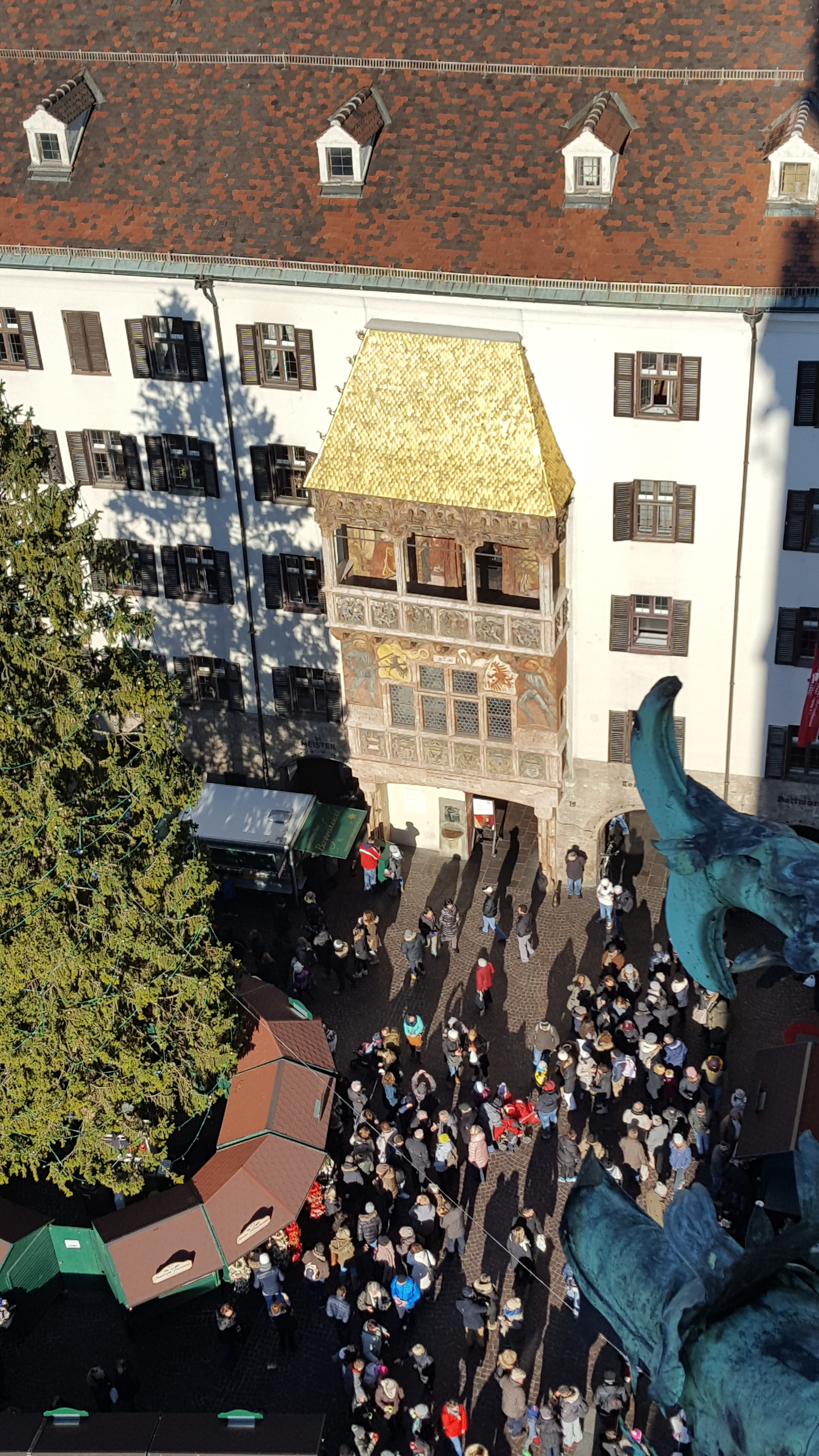 Innsbruck's Goldnes Dachl