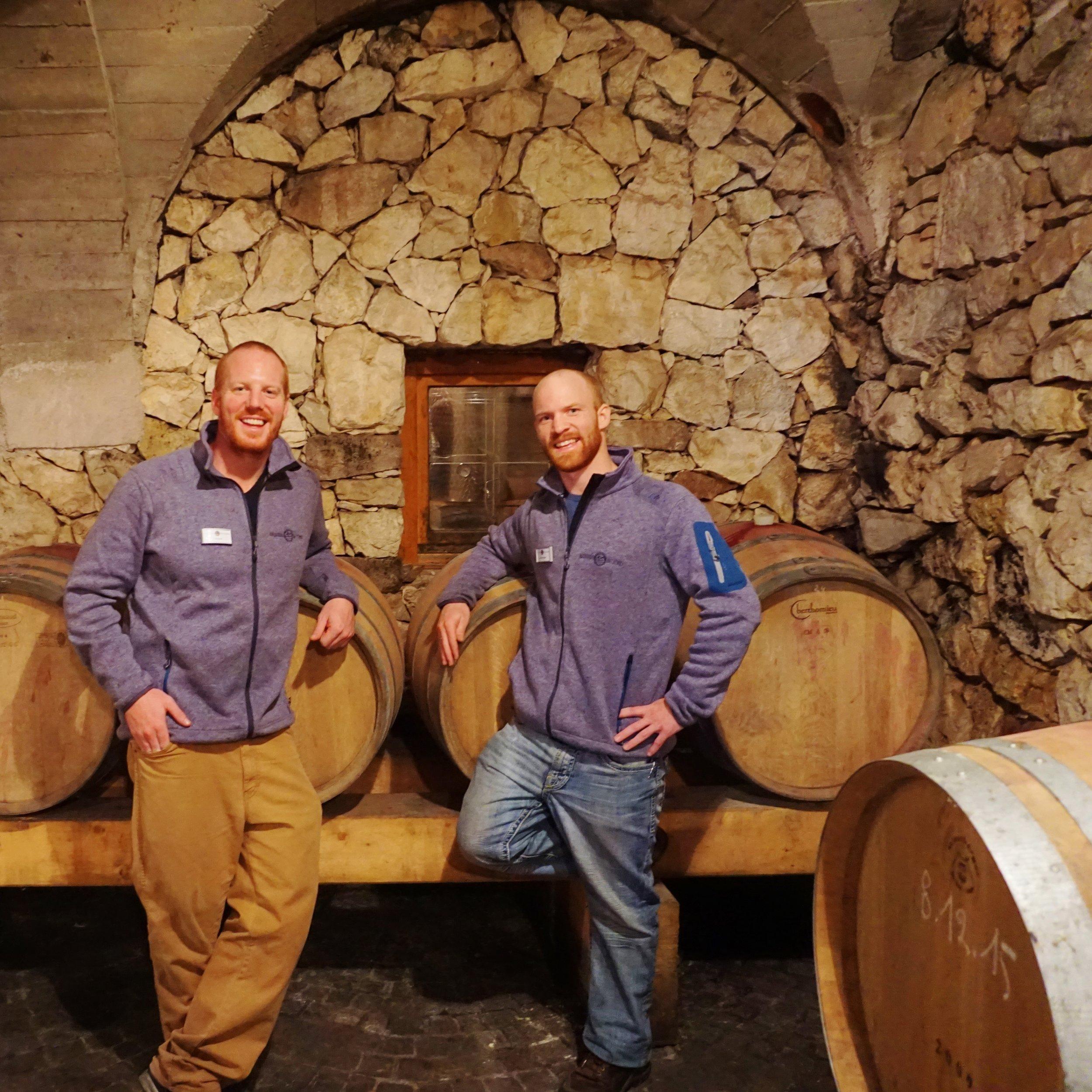 Italian wine cellar