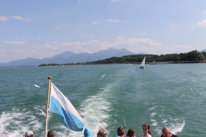Herrenchiemsee Palace boat ride