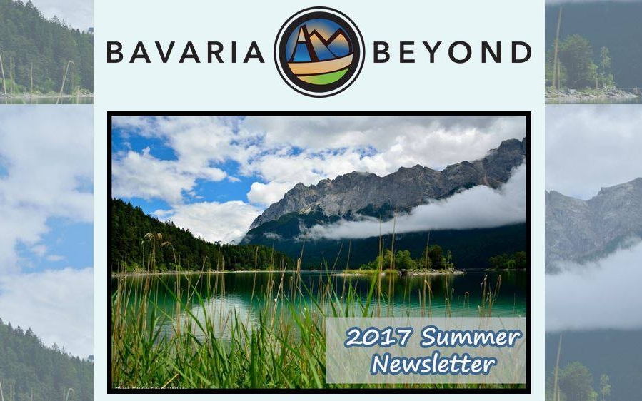 2017 Summer Newsletter - Summer happenings in Garmisch - Jake presents at the Atlantic Academie -Martin Luther Tour is fast approaching - Limited spots available on Luther and Christmas Market Tour