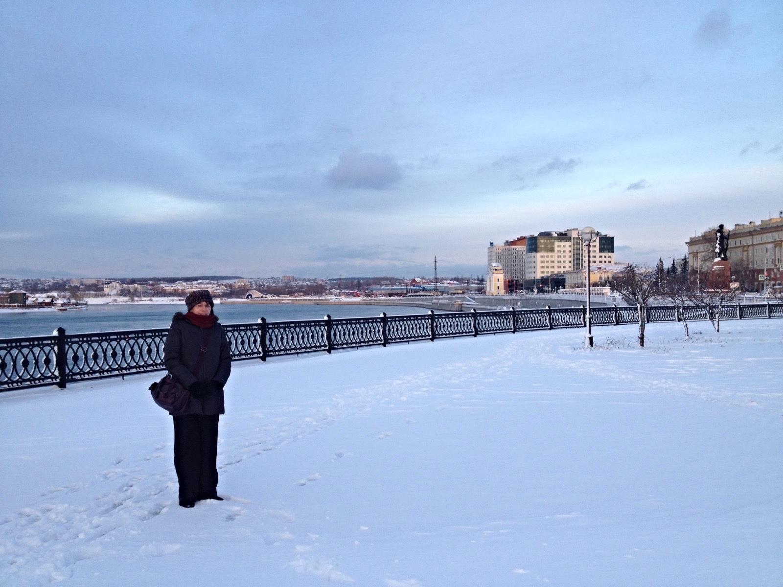 Irkoutsk, début novembre 2015