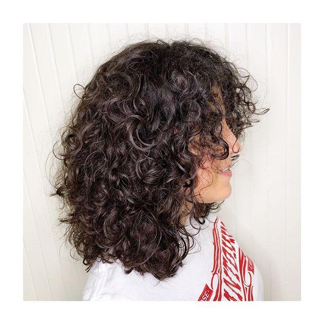Sunday's... #gilberthairstudio #joegilberthair #curlyhair #hairbrained #crafthairdresser #sanfranciscobayarea #downtownsanjose #arrojoarrojoproduct #americanwave #btconeshot