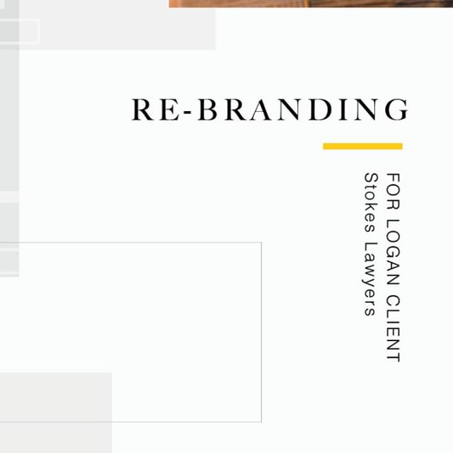 Re-branding is never a decision that's made lightly. It's an investment, a change and a re-adjustment to the team culture.  It is very exciting to hear that the re-brand for Stokes Lawyers has already made a positive impact on the culture within the office.  Remember, your 'Brand' is not just about the visuals, it's how people feel when they interact with you. That's what counts.
