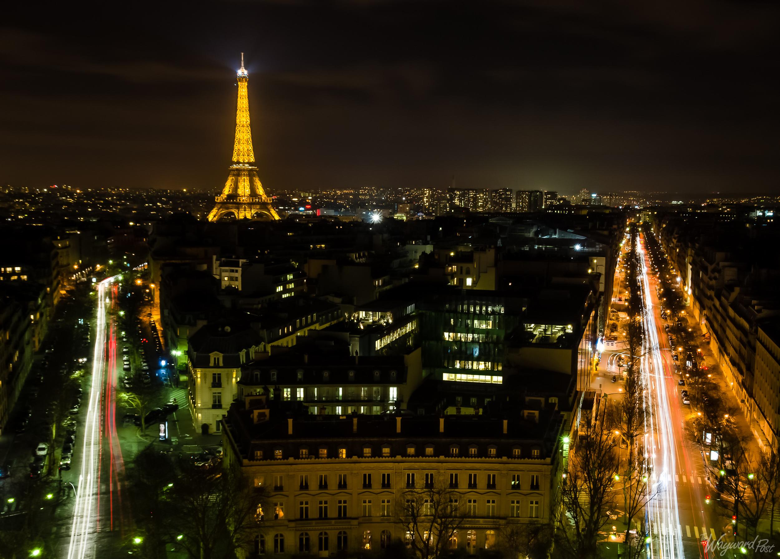 Eiffel Tower,Arc De Triomphe, Paris, France, The Wayward Post