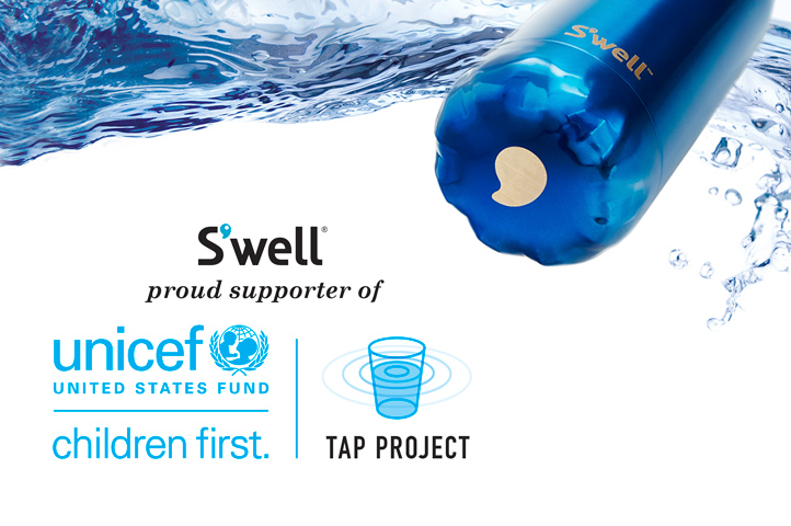 S'well, Water, Bottle, Tap Project, UNICEF, The Wayward Post