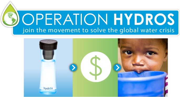 Operation Hydros, Hydros, Water, Bottle, Recycle, The Wayward Post
