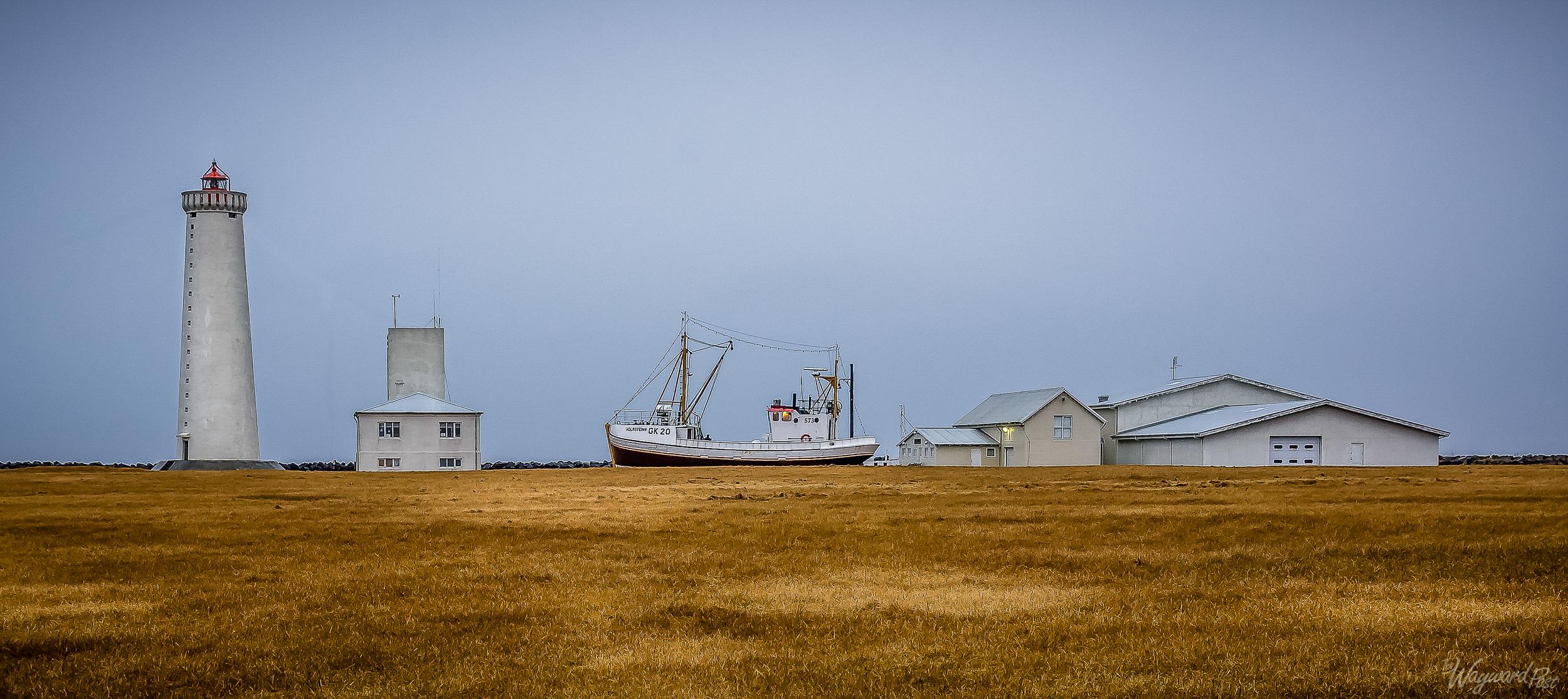 Iceland, Gardskagi,Lighthouse, Boat, The Wayward Post