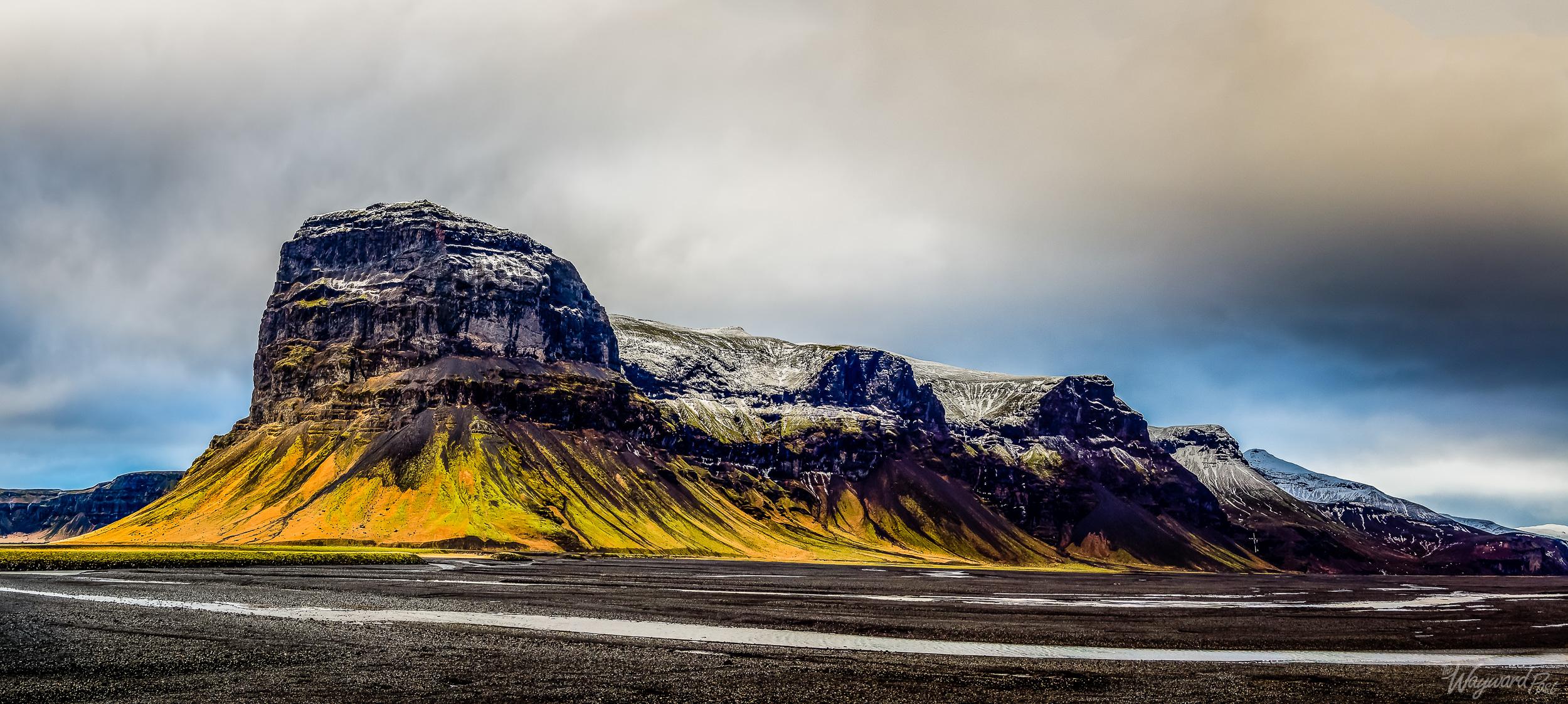 Iceland, Mountains, Snow, Hills, Landscape, The Wayward Post