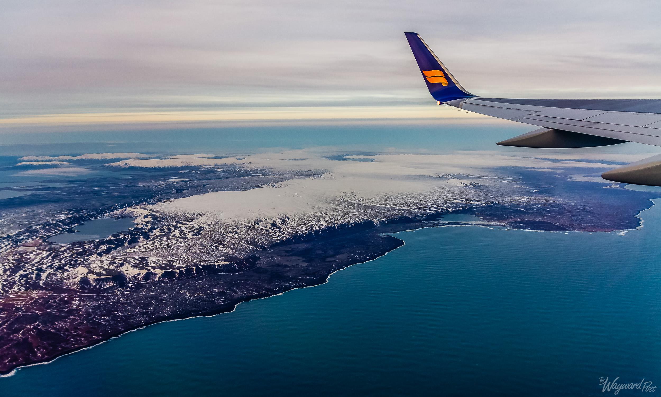 Plane, Airplane, Aeroplane, Wing, Iceland Air, Iceland, The Wayward Post