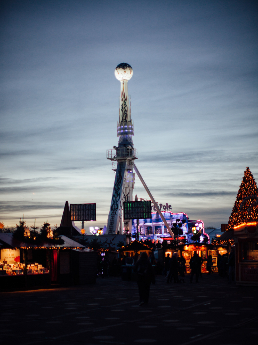 Christmas village and more attractions.