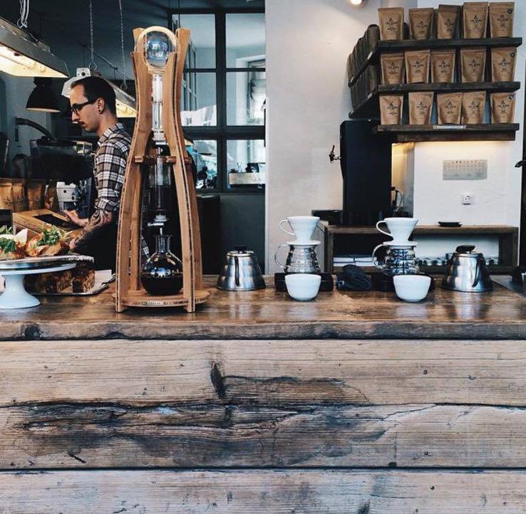 The Barn Coffee Roasters Berlin.