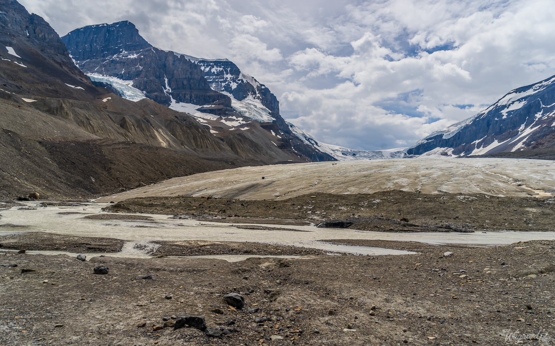 Athabasca Glacier, Colombia Icefield - The Wayward Post - Photo Story - Jasper National Park, AB Canada.