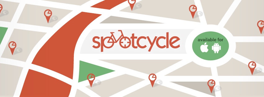 Spotcycle phone app for finding bikes and stations in cities around the world.