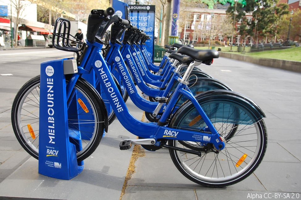 Melbourne Bike Share, Australia.