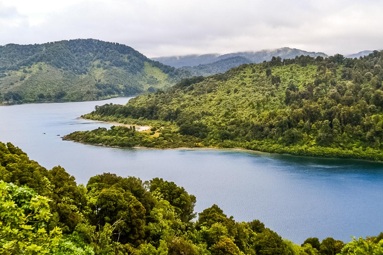 Lake Waikaremoana New Zealand. Photo by Julia Reynolds.