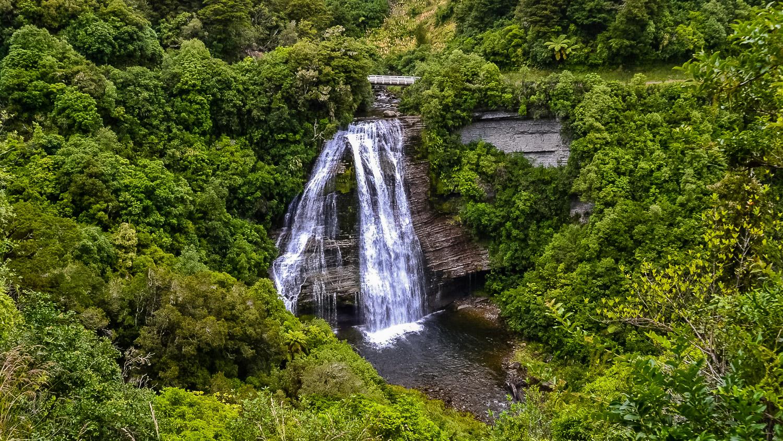 Aniwaniwa Falls, New Zealand. Photo by Julia Reynolds.