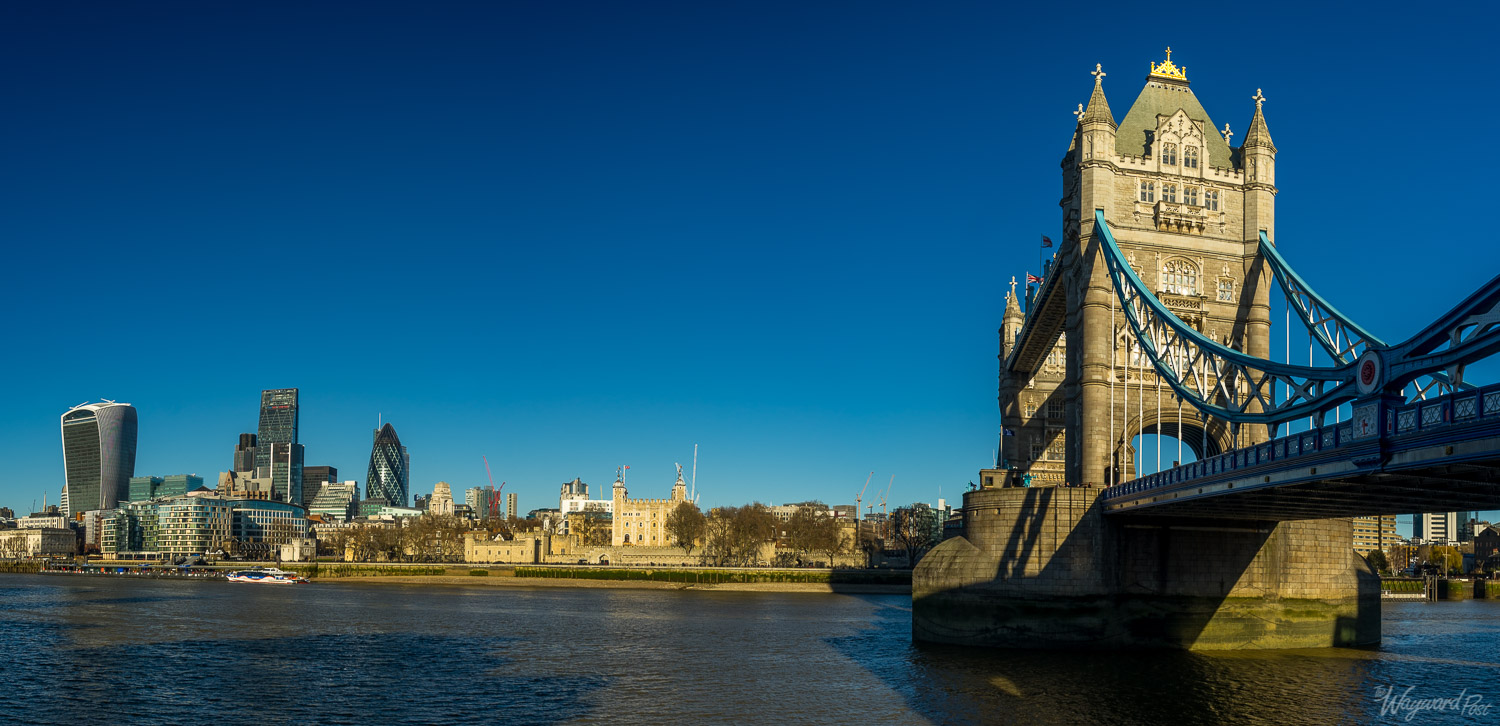 Tower Bridge and the Tower of London.Photo by Zygmunt Spray.