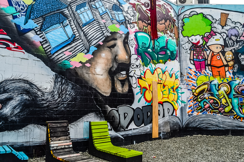 Street Art, Christchurch New Zealand