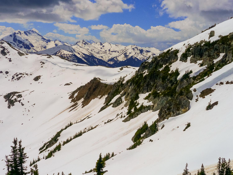 Whistler Mountains. Photo by Johanna Read.