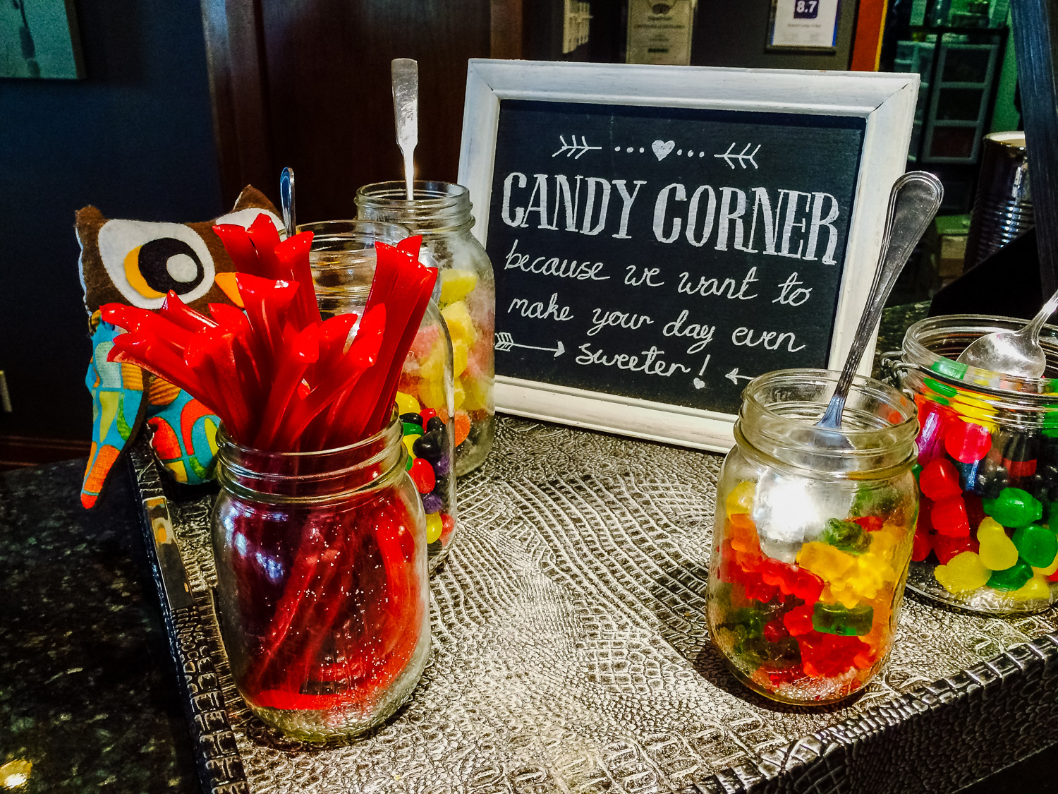 Summit Lodge in Whistler - candy corner. Photo by Johanna Read.
